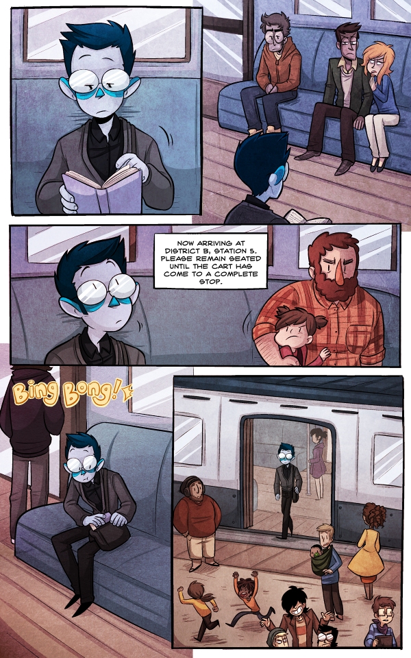 Monsterkind Comic Page 1